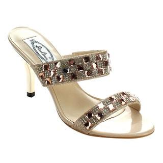 Italina DH1756 Women's Rhinestone Deco Heels