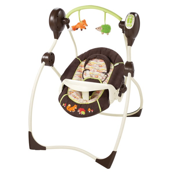 Summer Infant Sweet Sleep Musical Swing in Fox & Friends (As Is Item)