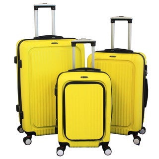 World Traveler Excursion 3-piece Expandable Hardside Spinner Luggage Set