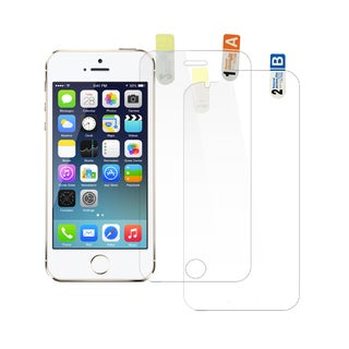 NIC Glasstic Crystal Hardness Screen Protector Film for iPhone 5/ 5S