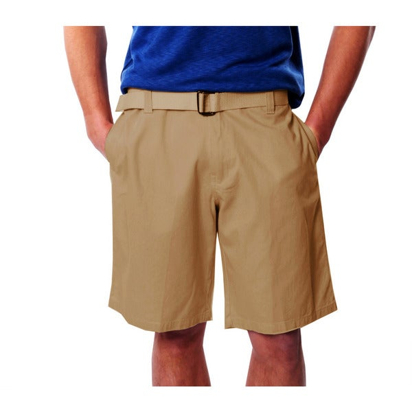 Men's Twill Short with Belt