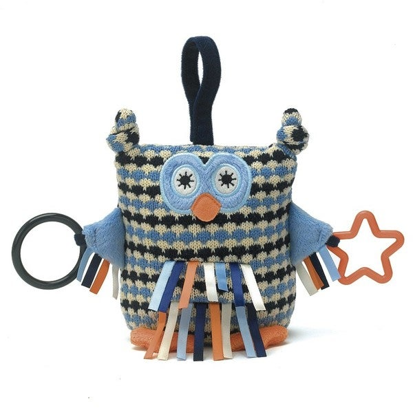 Jellycat Blue Toot Owl Activity Toy