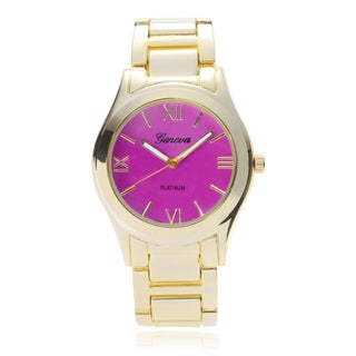 Geneva Platinum Women's Link Band Watch