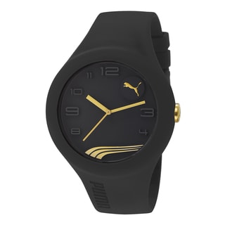 PUMA PU103211008 Form XL Black Gold Analog Watch