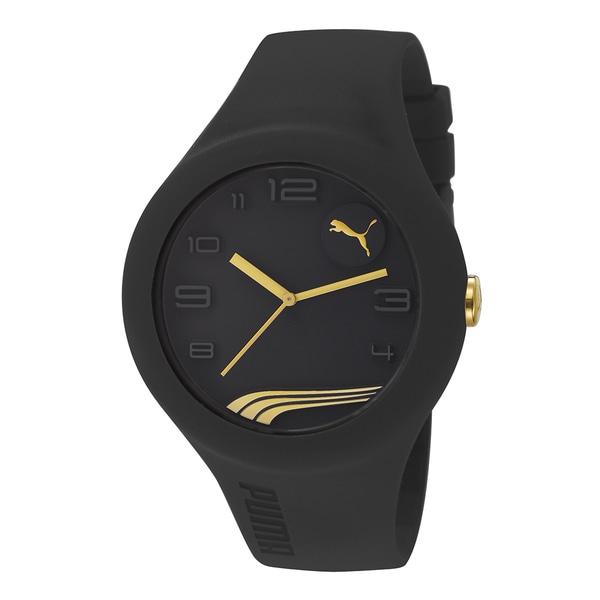 PUMA PU103211008 Form XL Black Gold Analog Watch
