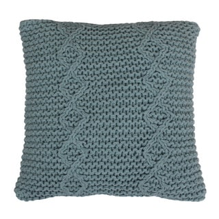 Logan Knitted 18-inch Throw Pillow