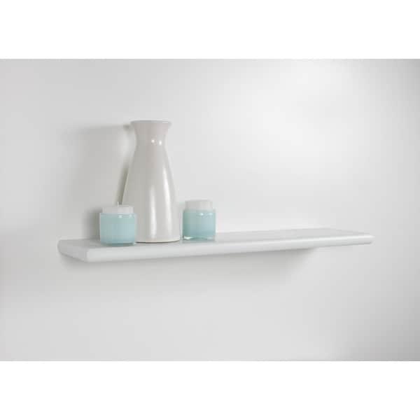 Lewis Hyman White Bracketless Decorative Shelf
