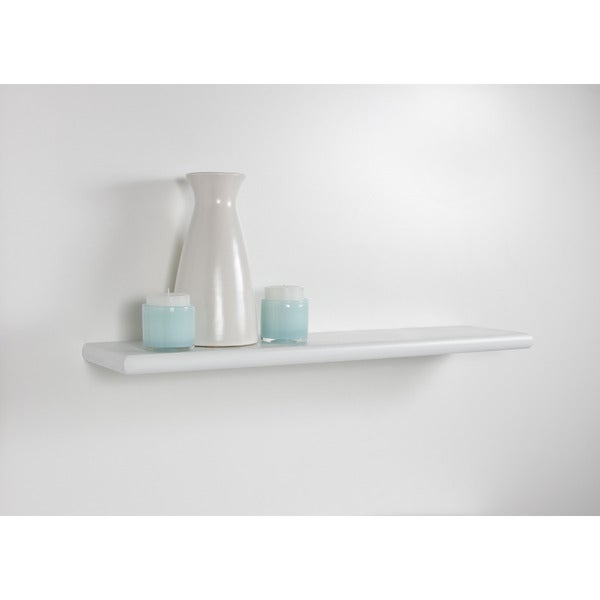 Lewis Hyman White Bracketless Decorative Shelf