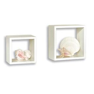 Lewis Hyman White Wall Cube (Set of 2)
