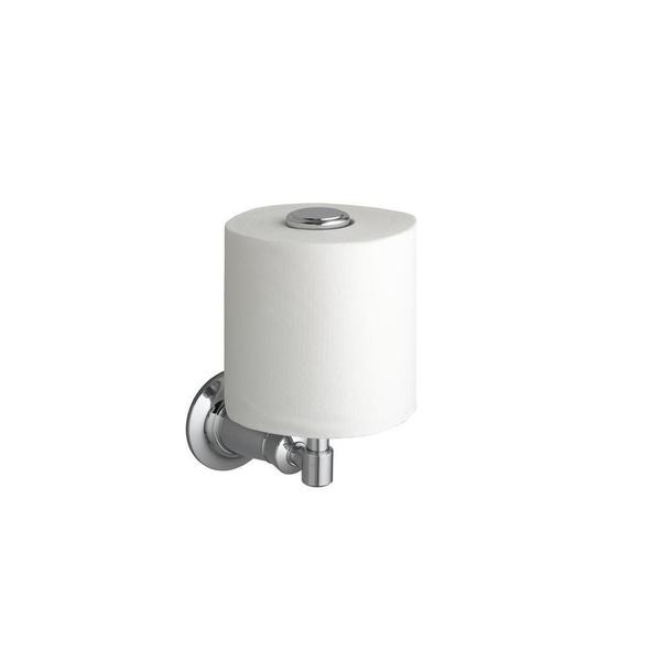Archer Vertical Single Post Toilet Paper Holder