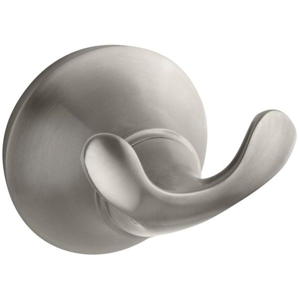 Forte Double Sculpted Robe Hook