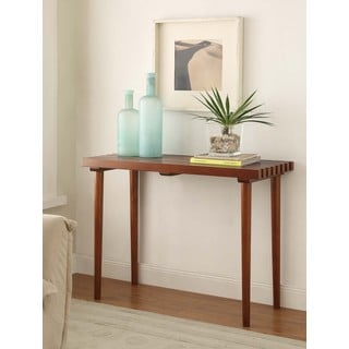 Pine Slat Sofa Table