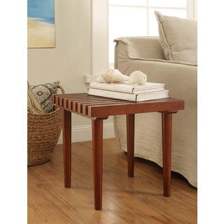 Pine Slat End Table