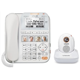 Vtech CareLine Corded Answering System with Portable Safety Pendant