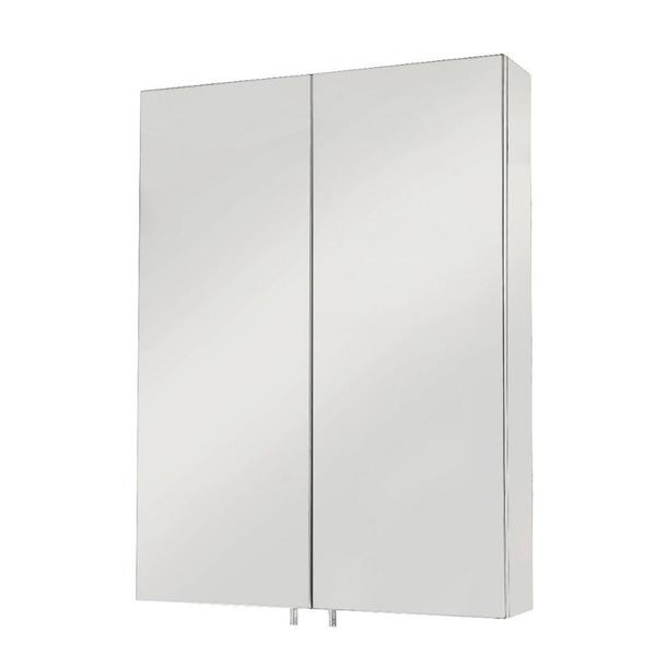 Anton Double Door Cabinet Surface Mount Only in Stainless Steel