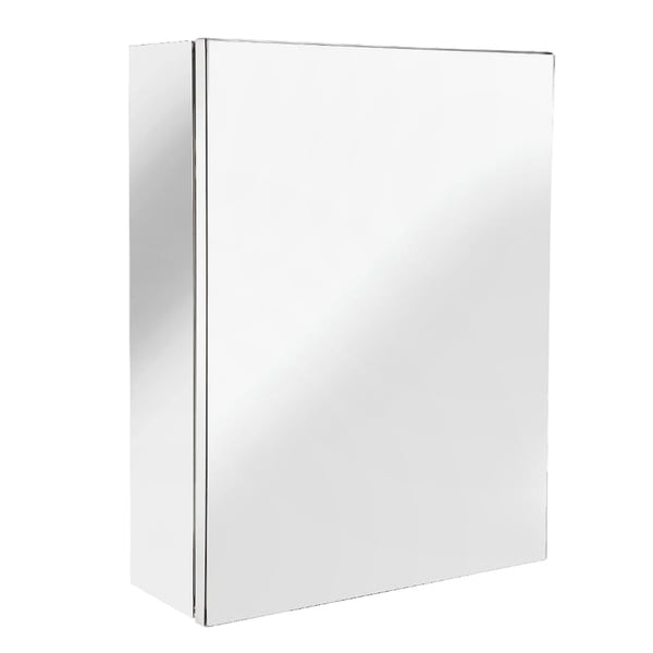 Avon Small Single Door Cabinet Surface Mount Only in Stainless Steel