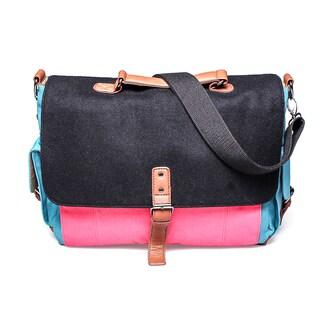 Something Strong Color Block Tablet Messenger Bag