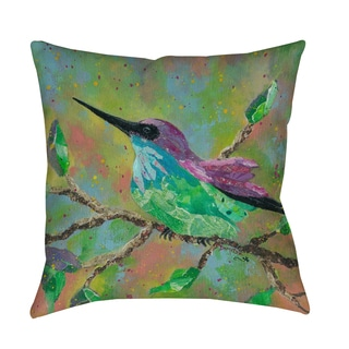 Thumbprintz Hummingbird - Decorative Pillow