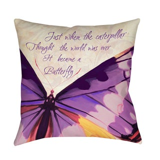 Thumbprintz Just When I - Decorative Pillow