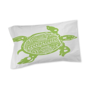 Thumbprintz Honu Turtle Green Sham