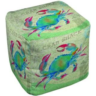 Thumbprintz Salty Air Crab Pouf
