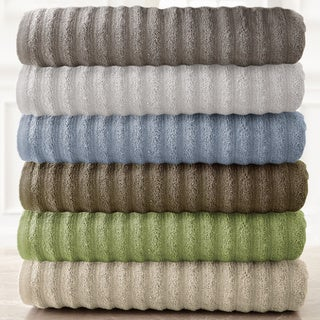 Wavy Luxury Spa Collection 6-Piece Quick Dry Towel Set