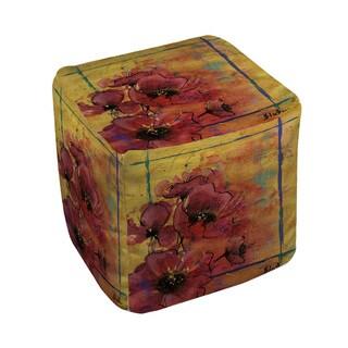 Thumbprintz Artistic Poppy I - Pouf