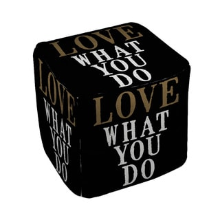 Thumbprintz Love What You Do - Pouf