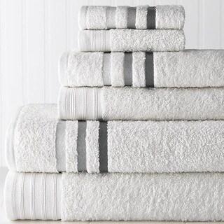 Ombre Stripe 6-Piece Towel Set