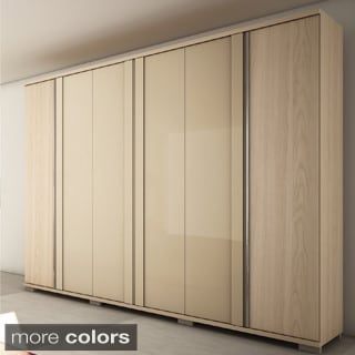 Manhattan Comfort 6 Drawer Soho 6 Door Wardrobe