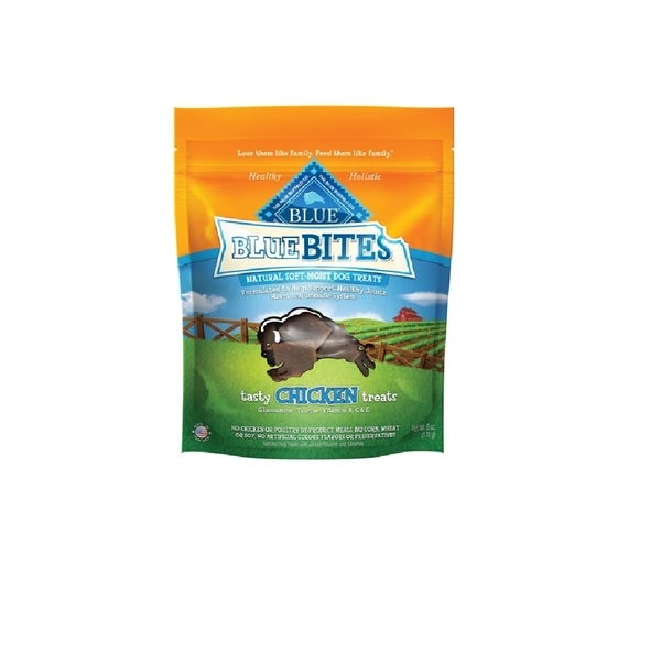 Blue Buffalo Blue Bites 6-ounce Chicken Natural Moist Treats