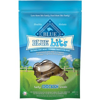 Blue Buffalo Blue Bits 4-ounce Natural Dog Training Treats