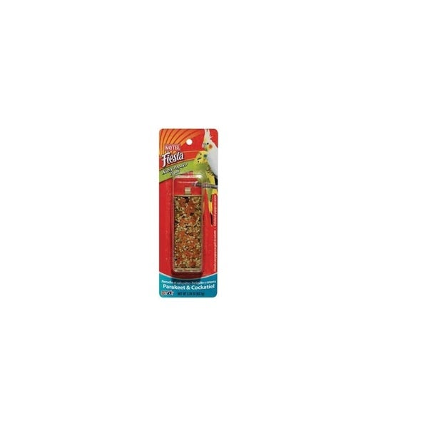 Kaytee Fiesta Nutty Papaya Treat Stick for Parakeet and Cockatiel