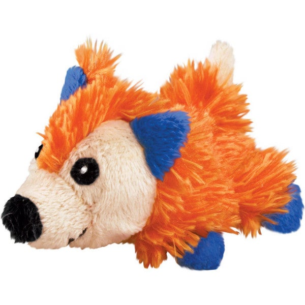 KONG Refillables Bright Fox Cat Toy with Catnip