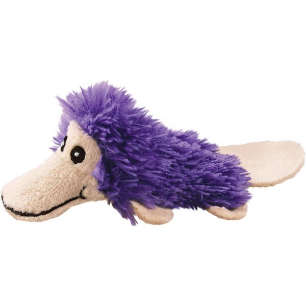 KONG Refillables Bright Platypus Cat Toy with Catnip