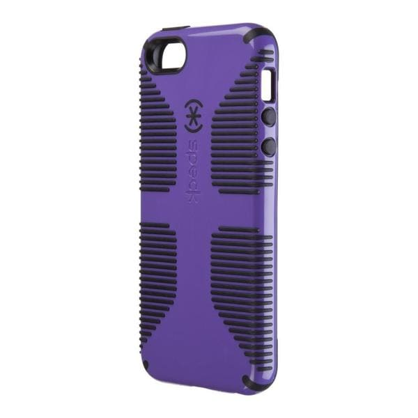 CandyShell Grip Purple/ Black Phone Case for Apple iPhone 5/ 5S