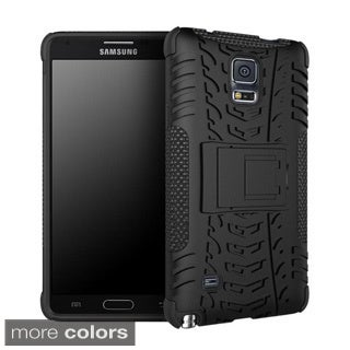 rooCASE Trac Armor Rugged Kickstand Case for Samsung Galaxy Note 4