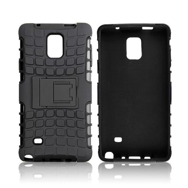 rooCASE Blok Armor Rugged Kickstand Case for Samsung Galaxy Note 4