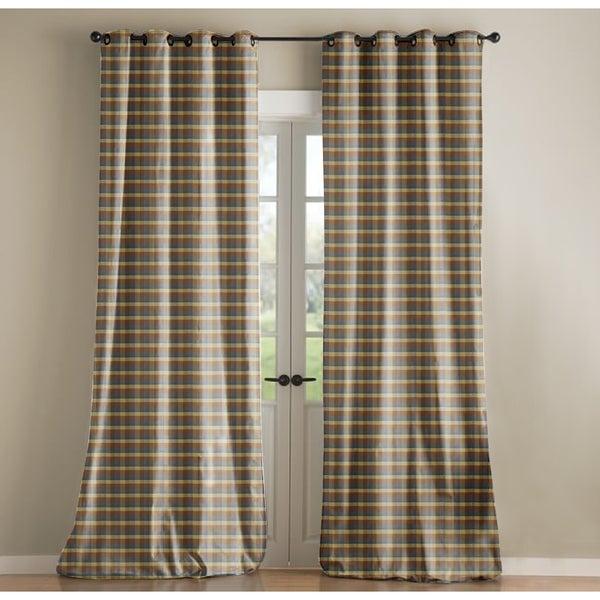 Sandy Wilson Poly Silk Curtain Single Panel