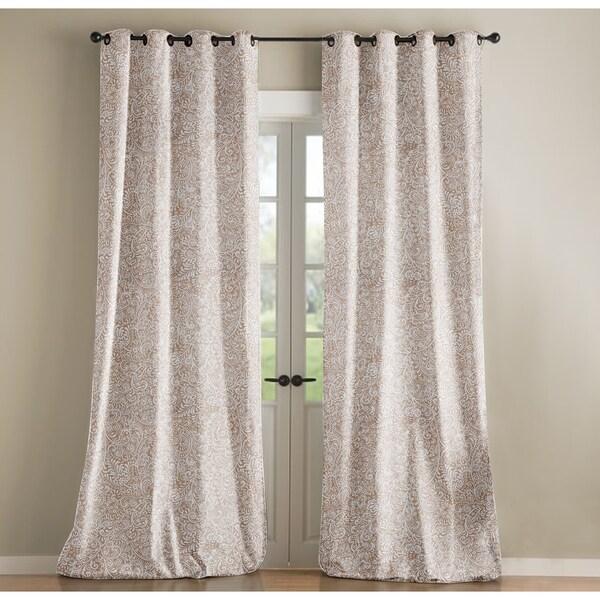 Sandy Wilson Jacquard Curtain Single Panel