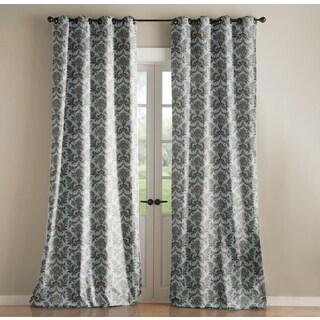 Jennifer Taylor Blue Dye Curtain Single Panel