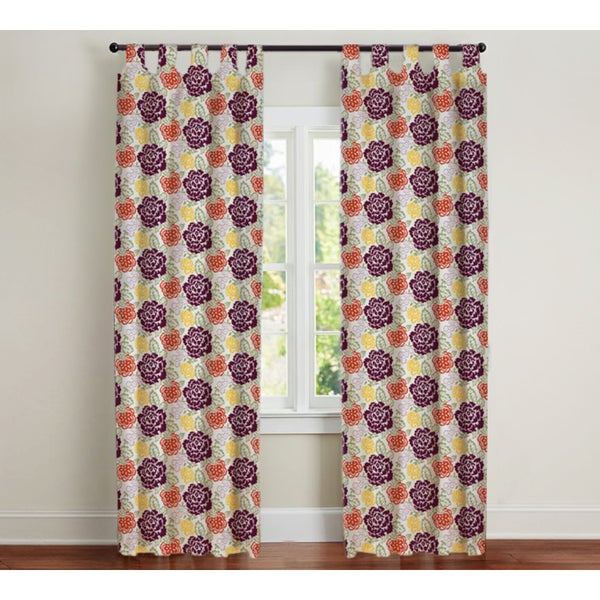 Sandy Wilson Cotton Sateen Curtain Single Panel