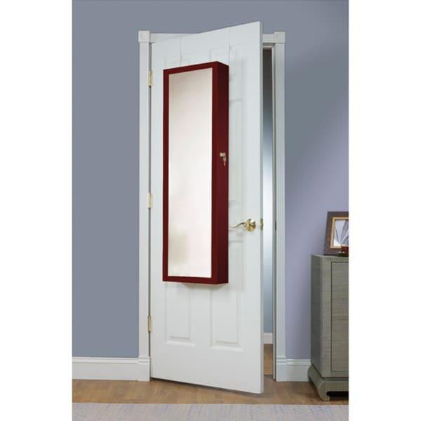 Over The Door Jewelry Armoire Storage Home Organizer ...