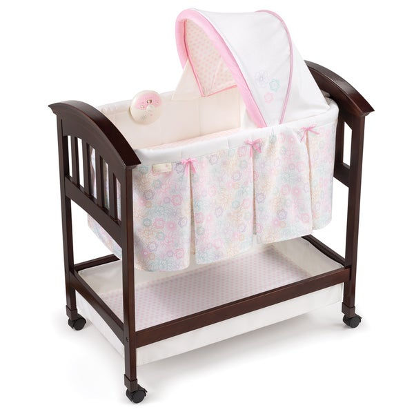 Summer Infant Classic Comfort Wood Bassinet in Bedtime Blossom