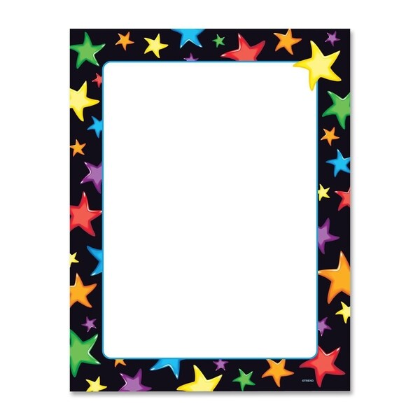 Trend Gel Stars Copy & Multipurpose Paper - 50/PK
