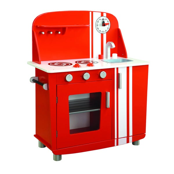 Maxim Enterprise Red Vintage Kitchen