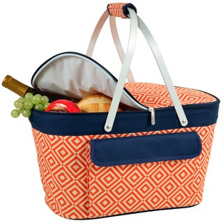 Picnic at Ascot Diamond Collection Collapsible Insulated Basket