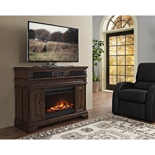 Connelly 48-inch Deluxe Xperience Audio Console with Electric Fireplace