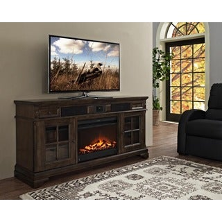 Connelly 66-inch Deluxe Xperience Audio Console with Electric Fireplace