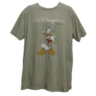 Men's Vintage Disney Tshirts Donald Walt Disney World